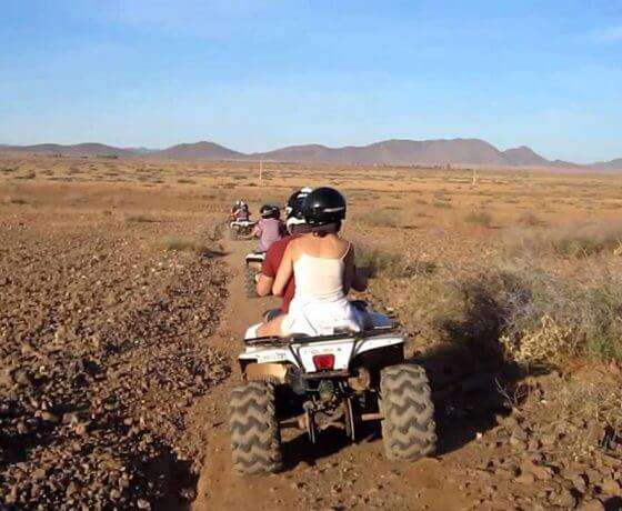 Quad biking marrakech